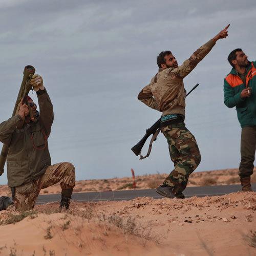Ливия повстанцы