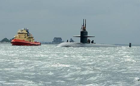 подводная лодка ВМС США / US Navy