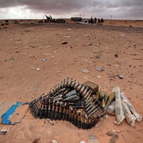 боевая позиция Ливия