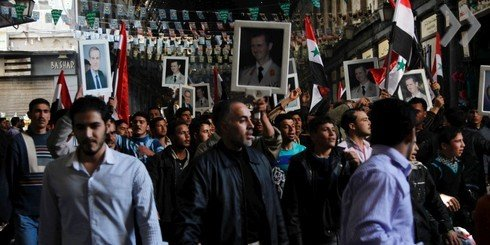 Сирия беспорядки