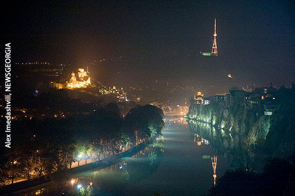 Тбилиси ночь