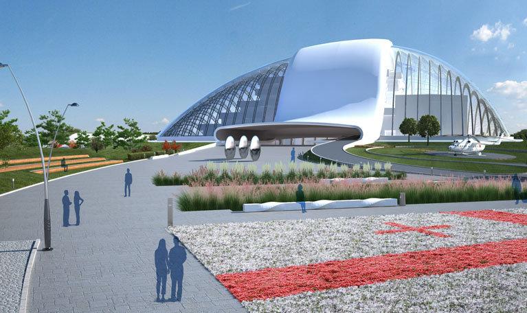 парламент Грузии в Кутаиси, проект