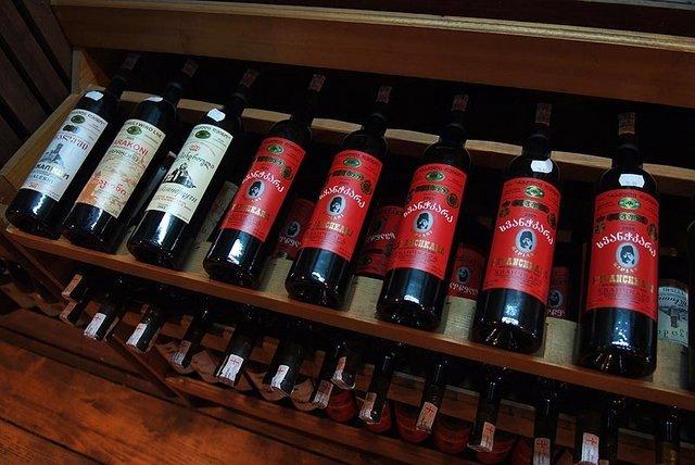 вино грузинские вина
