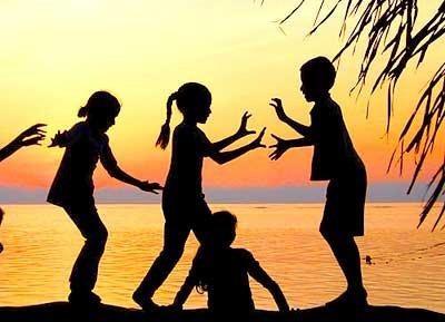 дети детский лагерь