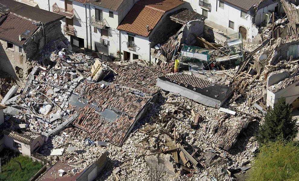 землетрясение Италия 2009 г