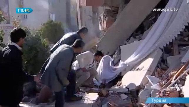 землетрясение Турция 2011
