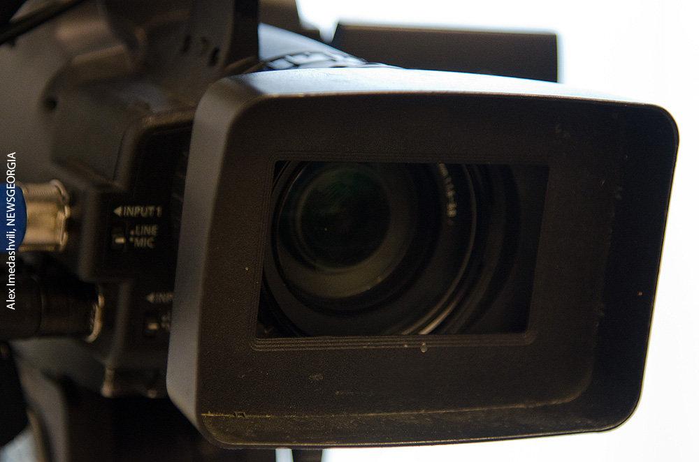 пресса ТВ кинокамера объектив