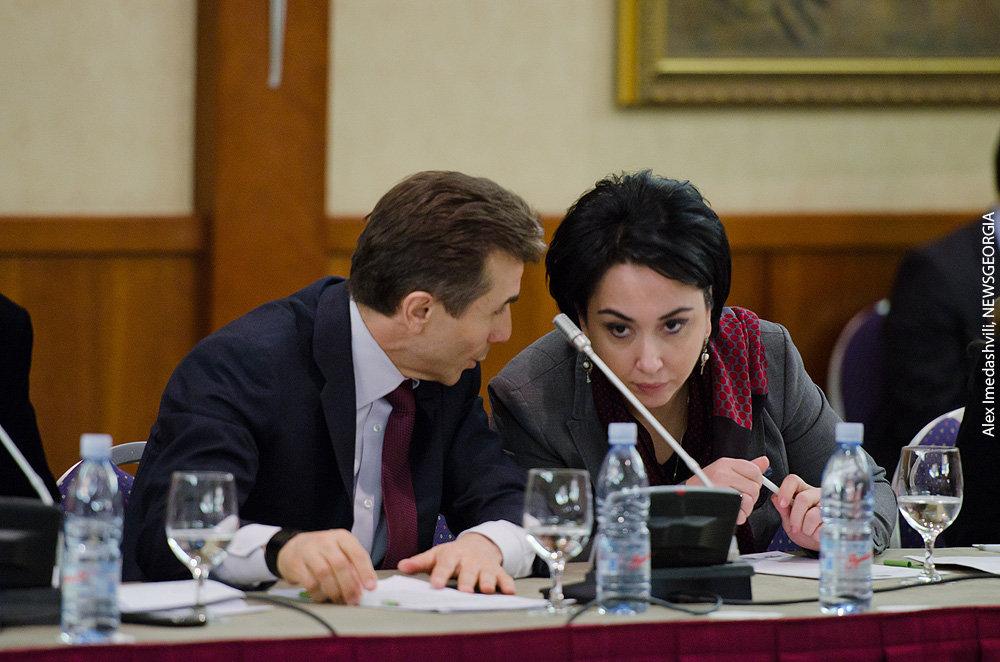 Бидзина Иванишвили Эка Беселия