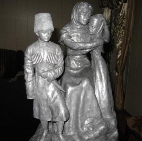 памятник черкесскому народу