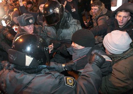 Москва митинг