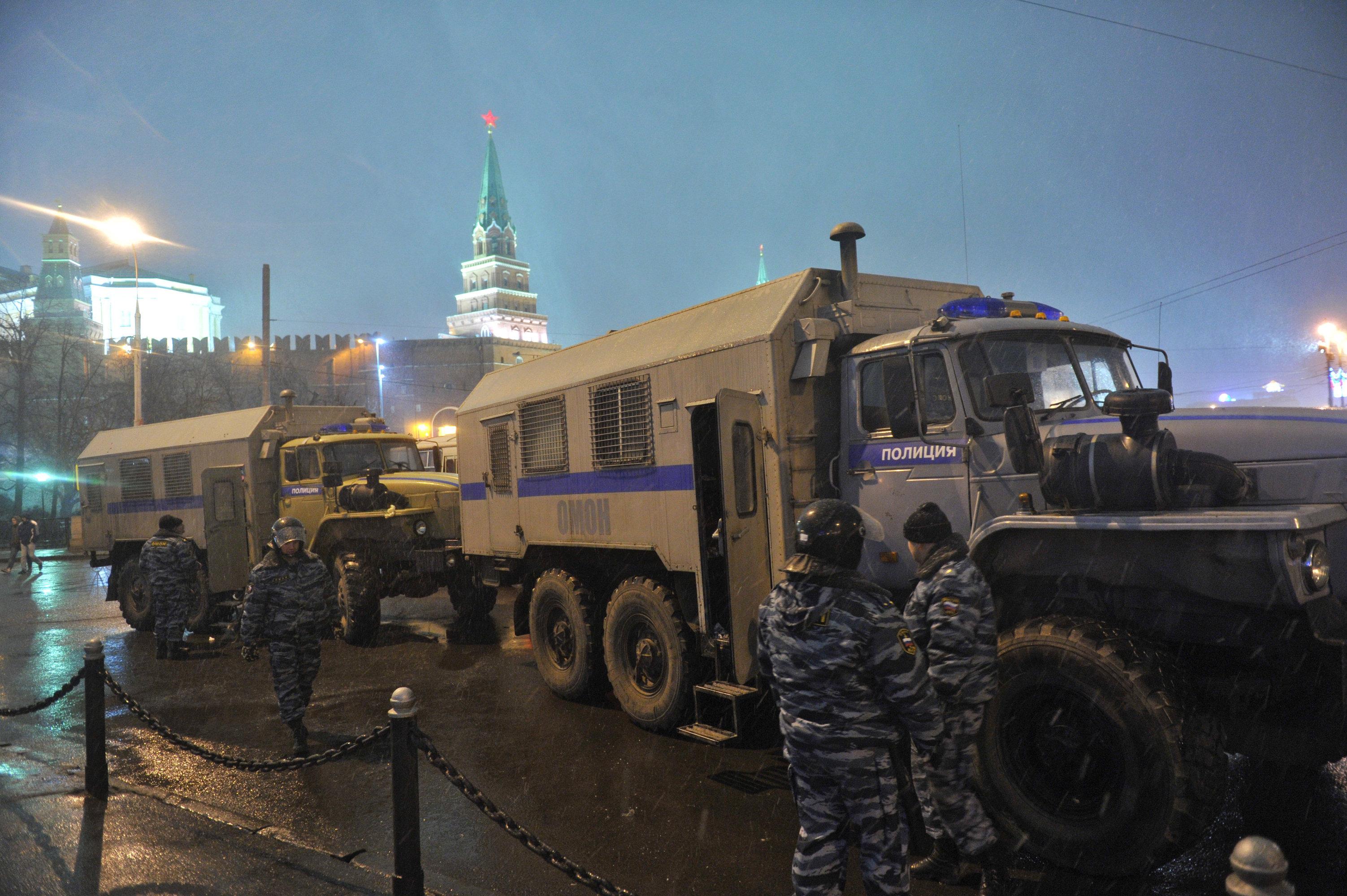 Москва ОМОН