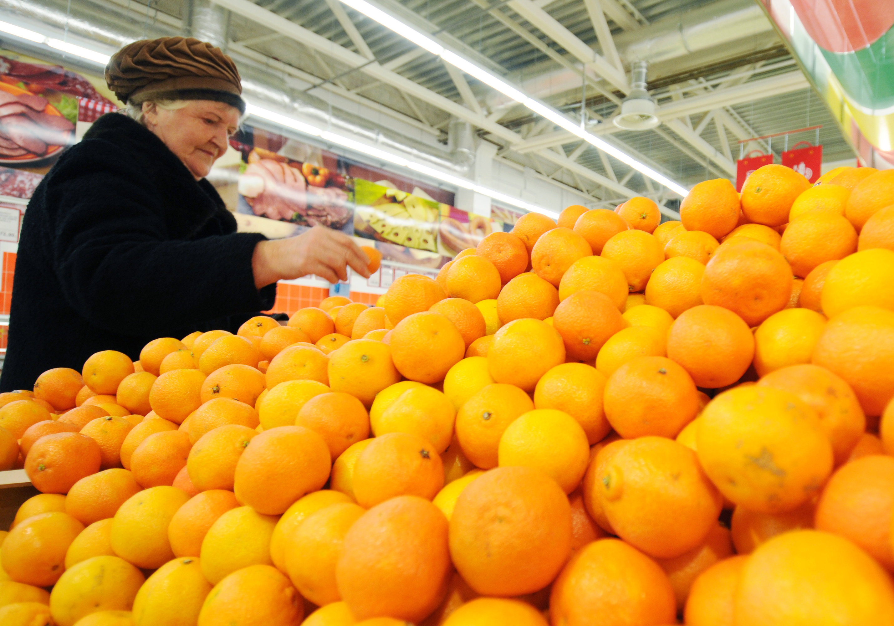 мандарины цитрусовые