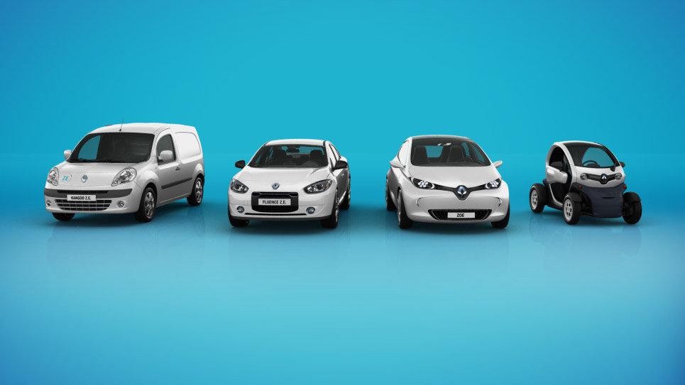 электромобили Renault