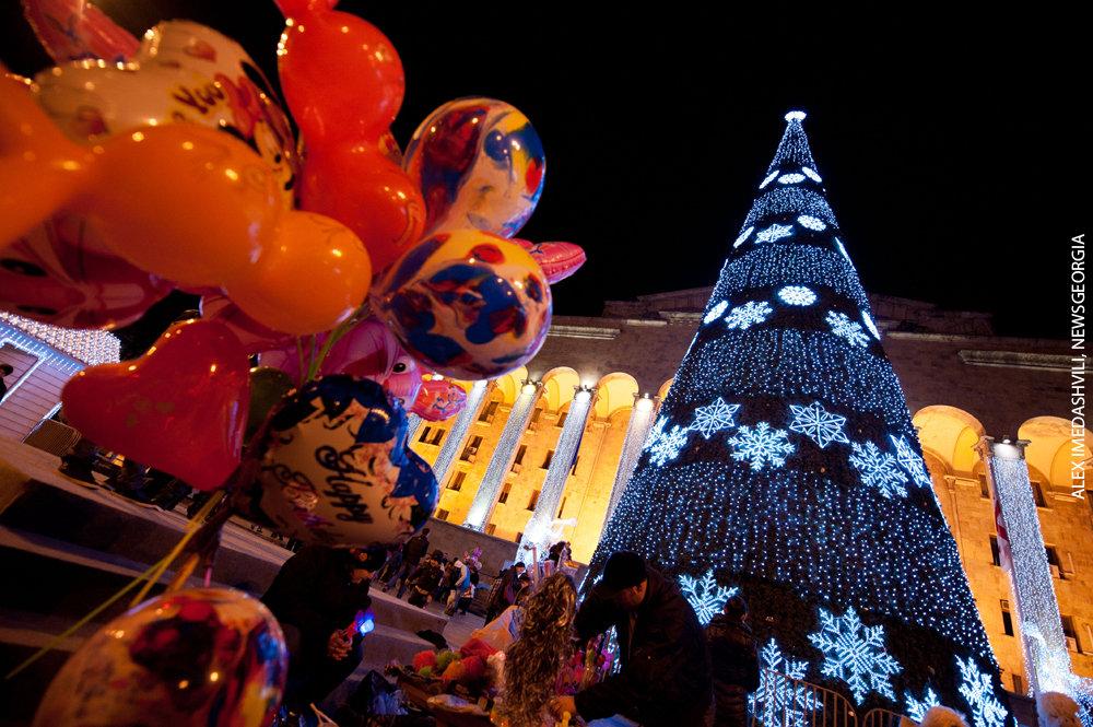 С новым годом на грузинский