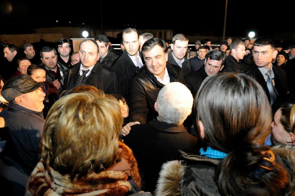 Михаил Саакашвили Гардабани