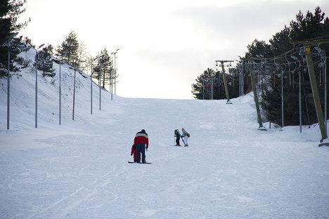 горнолыжный курорт Бетаниа горы