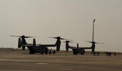 конвертоплан V-22 Osprey ВВС США