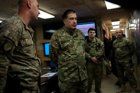 Михаил Саакашвили в Афганистане