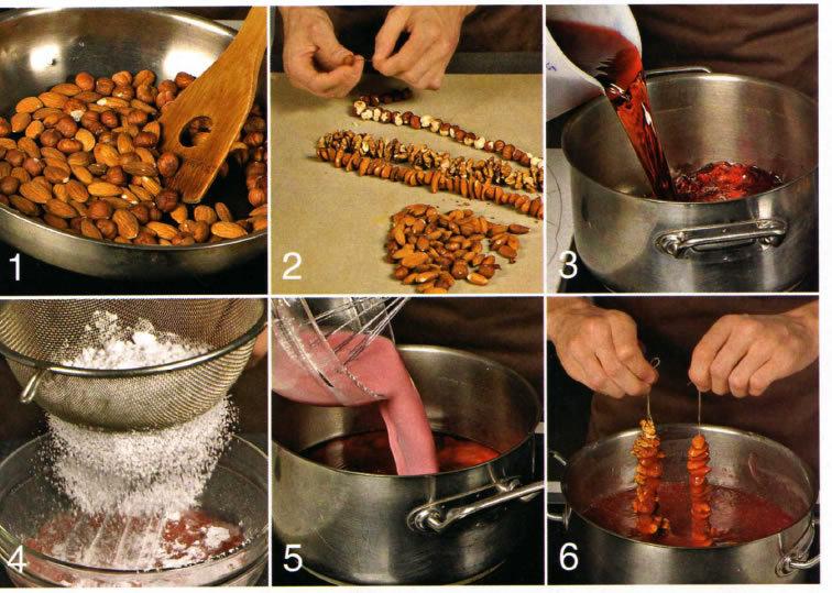 Чурчхела рецепт в домашних условиях рецепт пошагово