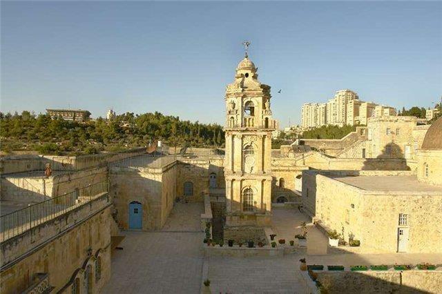 Крестовый монастырь Иерусалим