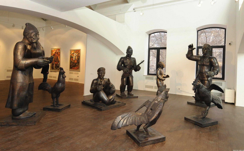 музей современного искусства в Тбилиси