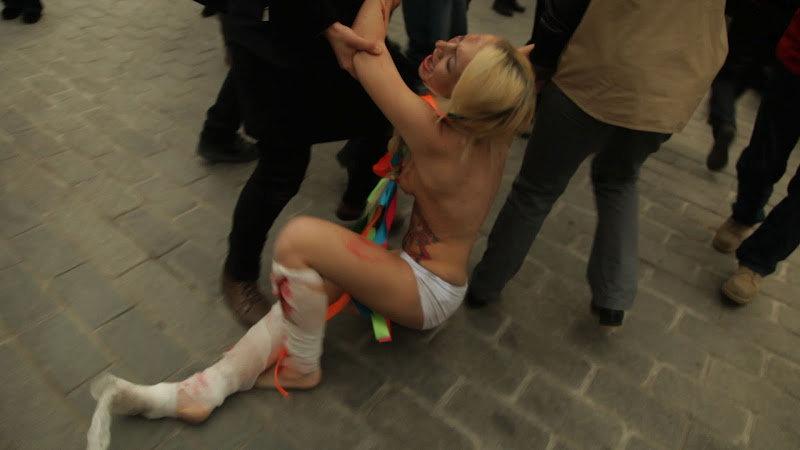 FEMEN в Стамбуле