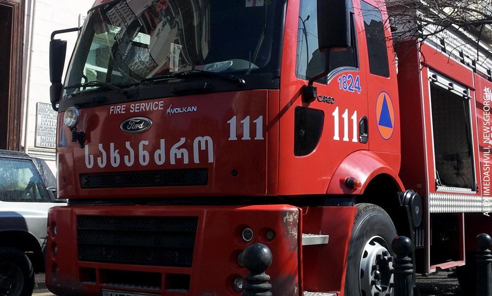 пожар пожарники