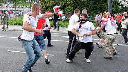 болельщики Польша