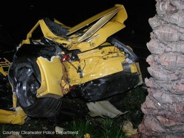 авария Toyota