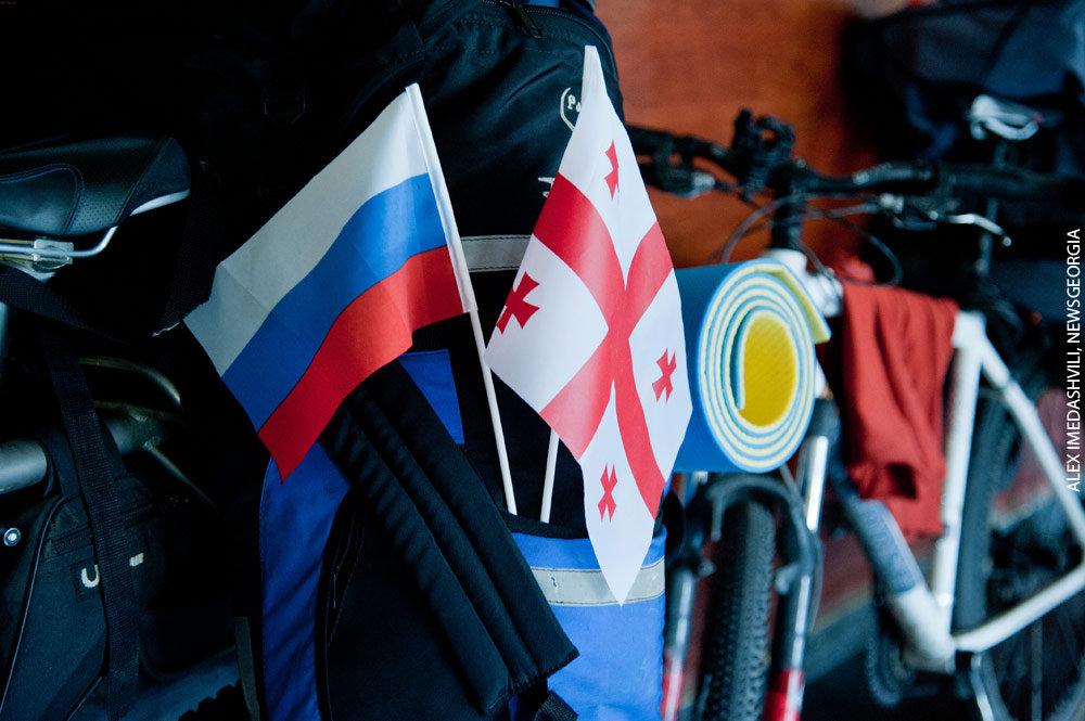 велопробег Грузия Россия