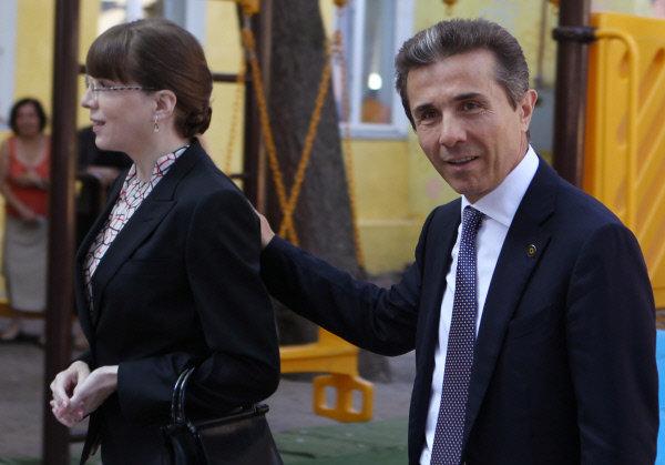 Бидзина Иванишвили Екатерина Хведелидзе