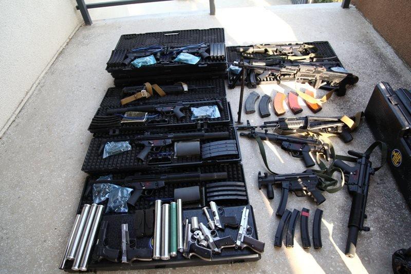 изъятие оружия