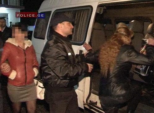 задержание проституток