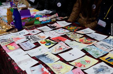 выставка продажа детского рисунка на Шардена