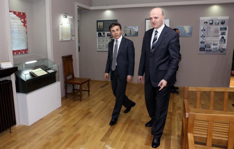 Бидзина Иванишвили и Константин Кублашвили