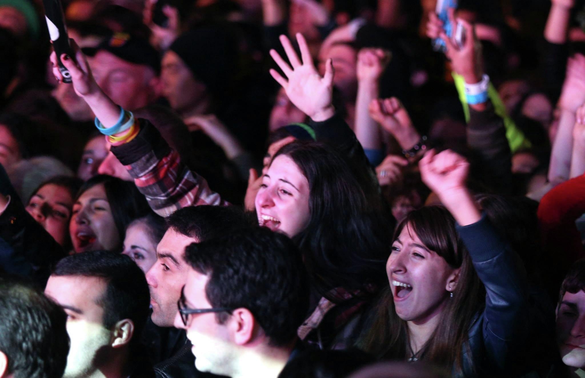 Концерт Беры, в поддержку Грузинской мечты