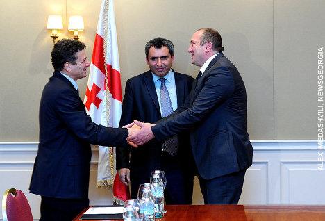 Посол Израиля, Зеэв Элкин и Георгий Маргвелашвили
