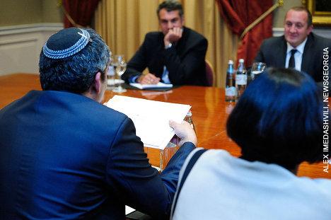 делегация Израиля и Георгий Маргвелашвили
