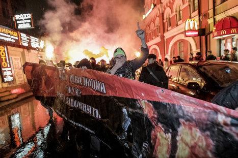 шествие анархистов