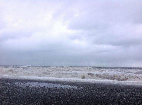 шторм и ураган в Батуми