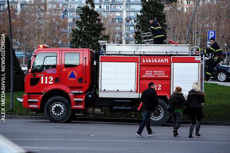 пожарная машина 112