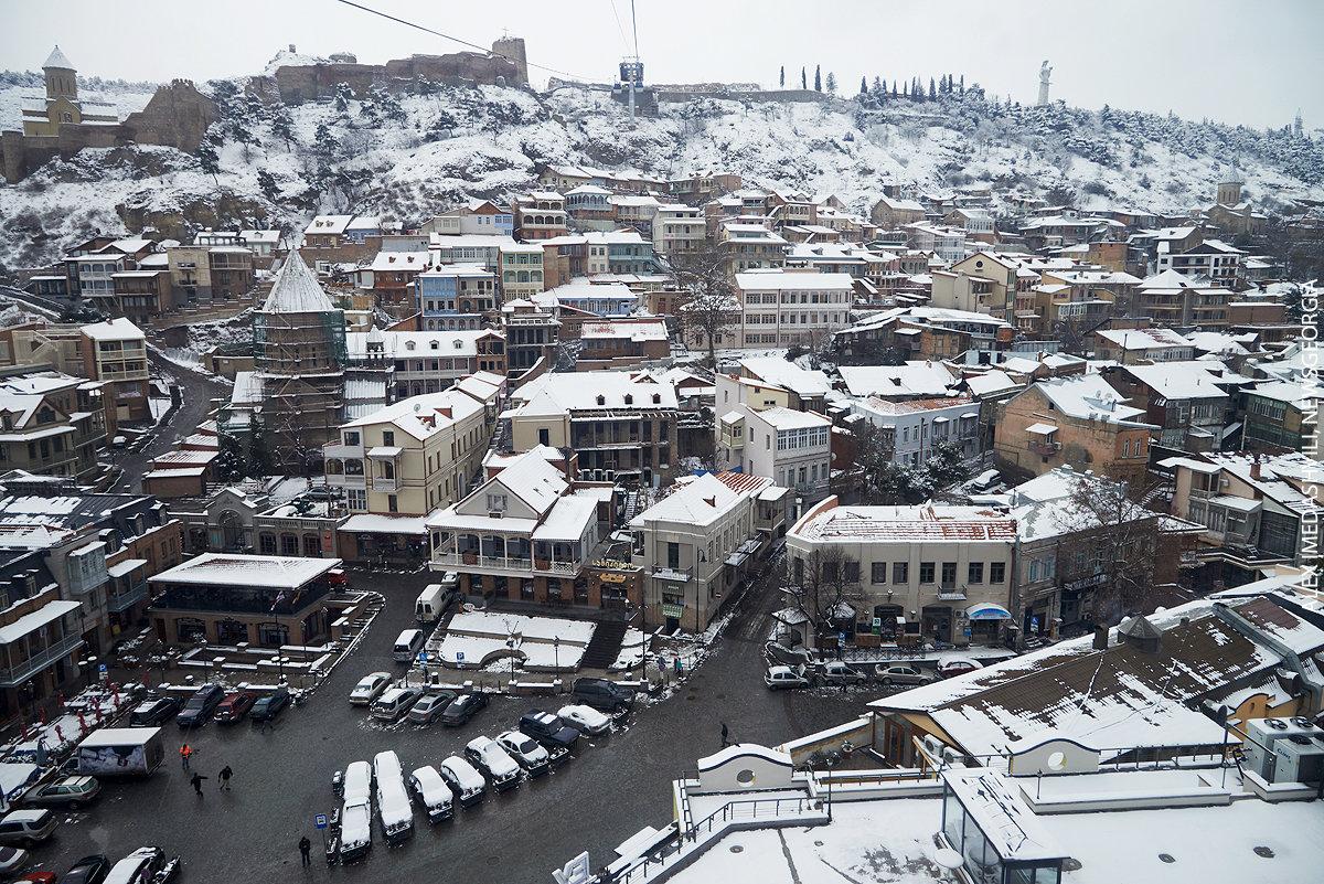 Тбилиси зима