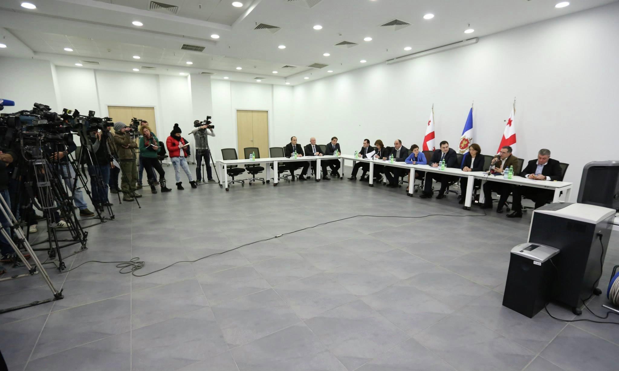 встреча в МВД