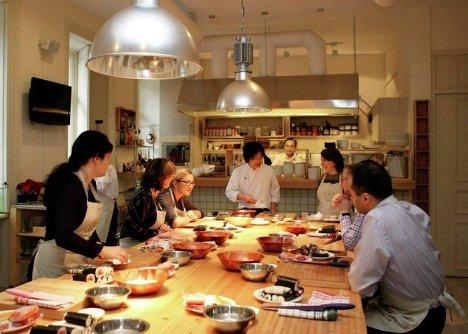 Японская кухня мастер класс своими руками #5
