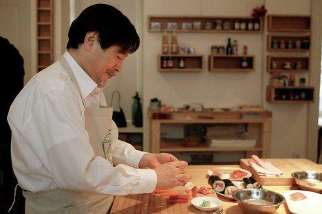Японская кухня мастер класс своими руками #8