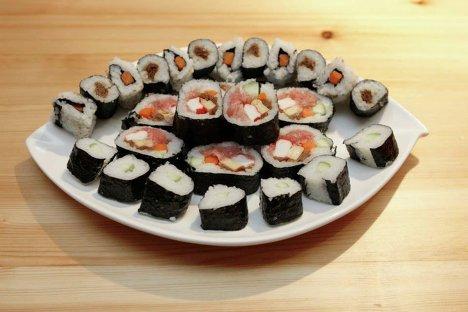 Японская кухня мастер класс своими руками #3