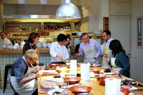 Японская кухня мастер класс своими руками #7