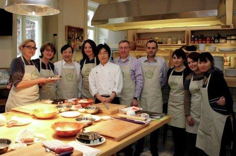 Японская кухня мастер класс своими руками #10