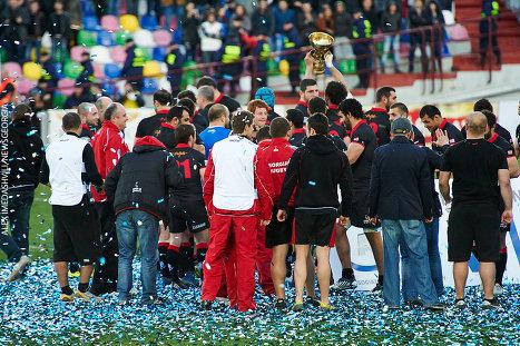 регби - сборные Грузии и Румынии