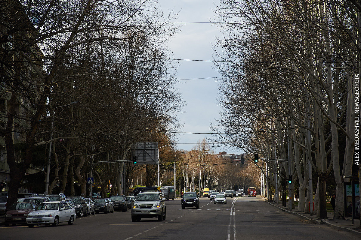 Тбилиси дороги